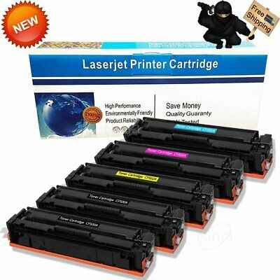CF500A for HP202A Toner Cartridge Compatible PRO M254DN M254DW M254NW MFP M280NW M281CDW M281FDN M281FDW Toner Cartridge 4-Color Set-black-3packs