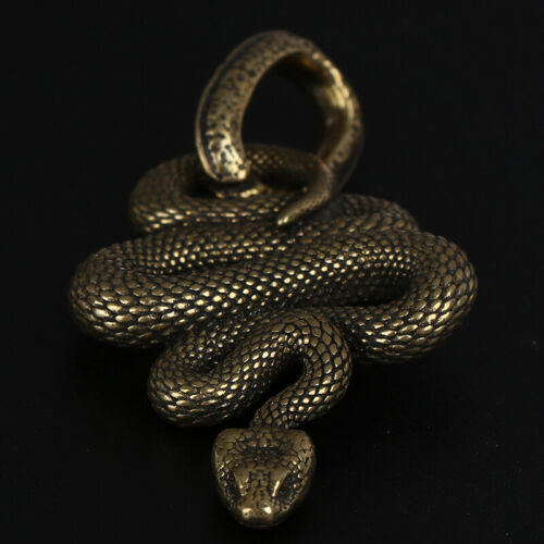 1pc Brass Snake Key Ring Boa Key chain Outdoor Small Accessories Car HanginYNFK
