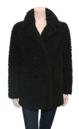 SANDRO Teddy Bear Coat (SIZE S)