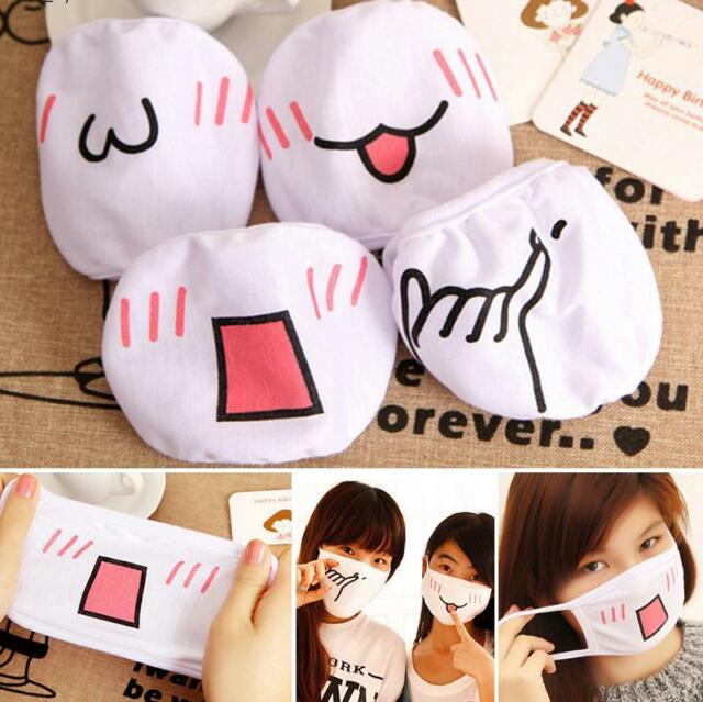Health Anti-dust Flu Face Mask Surgical Breathing Cute Cotton Mouth Face Mask