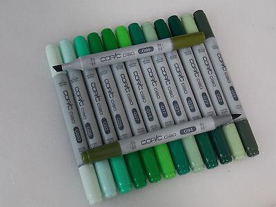 Copic Ciao Marker G-Töne freie Farbwahl Filzstift NEU Kombiversand