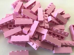 LEGO NEW-#3010-BRIGHT LIGHT ORANGE-1 x 4 BRICK-50 PIECES