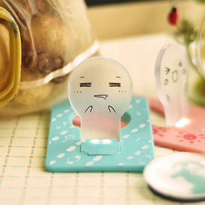 Portable LED Lovely Fashion Creative Energy Saving Card Light Cute Expression