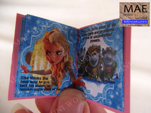 Scale 1:6 Frozen Infant Illustrated artisan miniature book
