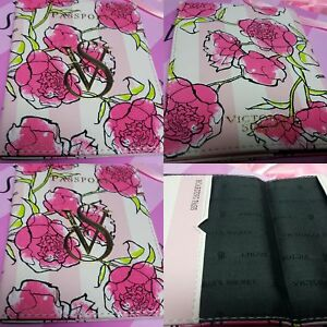 CRZYHeart-SALE-BNWOT-Victoria-039-s-Secret-VS-FLORAL-two-fold-Passport-Holder