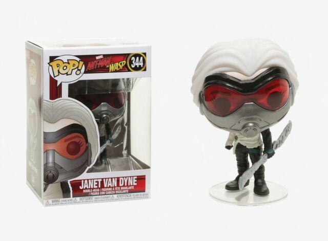 Ant-Man /& The Wasp Janet Van Dyne Funko POP #344