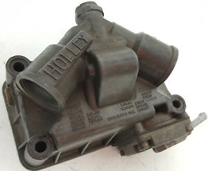 Holley-high-performance-Cathedral-style-complete-float-bowl-w-accelerator-pump