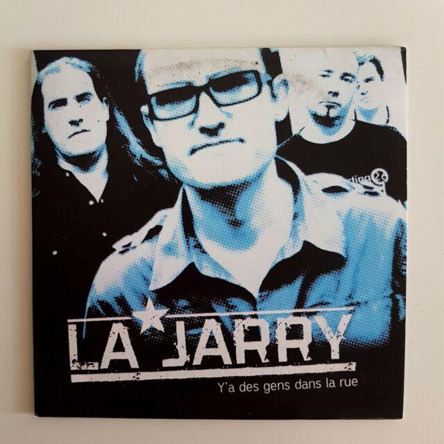 LA JARRY : Y'A DES GENS DANS LA RUE ♦ CD Single Promo ♦