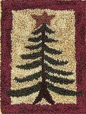 "New Punchneedle Pattern by Rachel's of Greenfield  ""Pine Tree"""