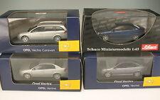 SCHUCO Sammlung - 4x OPEL VECTRA - C - GTS - Caravan - 1:43 - NEU in OVP