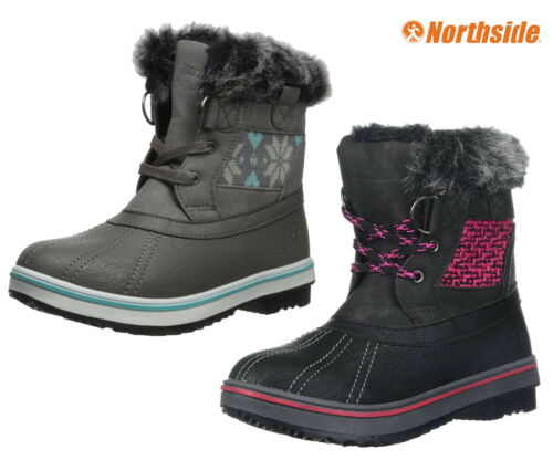 Girls Snow Boots Northside Brookelle WaterProof Winter Boots 10F NEW