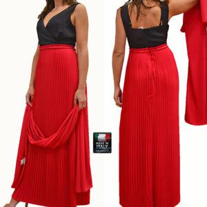Vestiti Eleganti Oltre La 46.Abito Lungo Cerimonia Donna Vestito Elegante Giulia Valli Made In