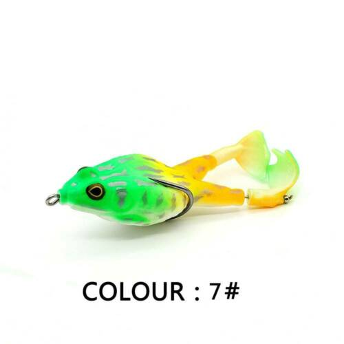 Double Propellers Frogs Soft Bait Soft Silicone Fishing Lures BEST US