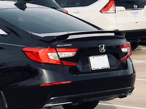 Image Is Loading Painted Rear Spoiler Fit 2018 2019 Honda Accord