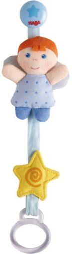 Schnullerkette HABA Schutzengel Blau Nuckelkette Kette Engelschnullerkette