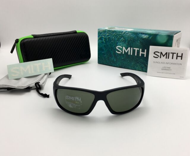 94e0013420e Smith Optics Fly Fishing Discord Polarized ChromaPop Sunglasses Gray Green  Matte Black