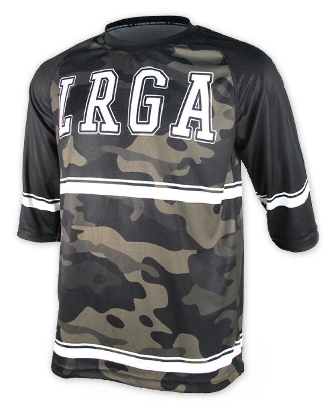 Loose Riders Herren LRGA CAMO Jerseys 3/4 arm.Sportwear,Bike,Radsport Style