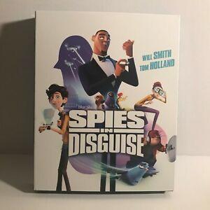 Espias-in-Disguise-Animados-Pelicula-Blu-ray-Disc-solamente-no-Dvd-no-Digital