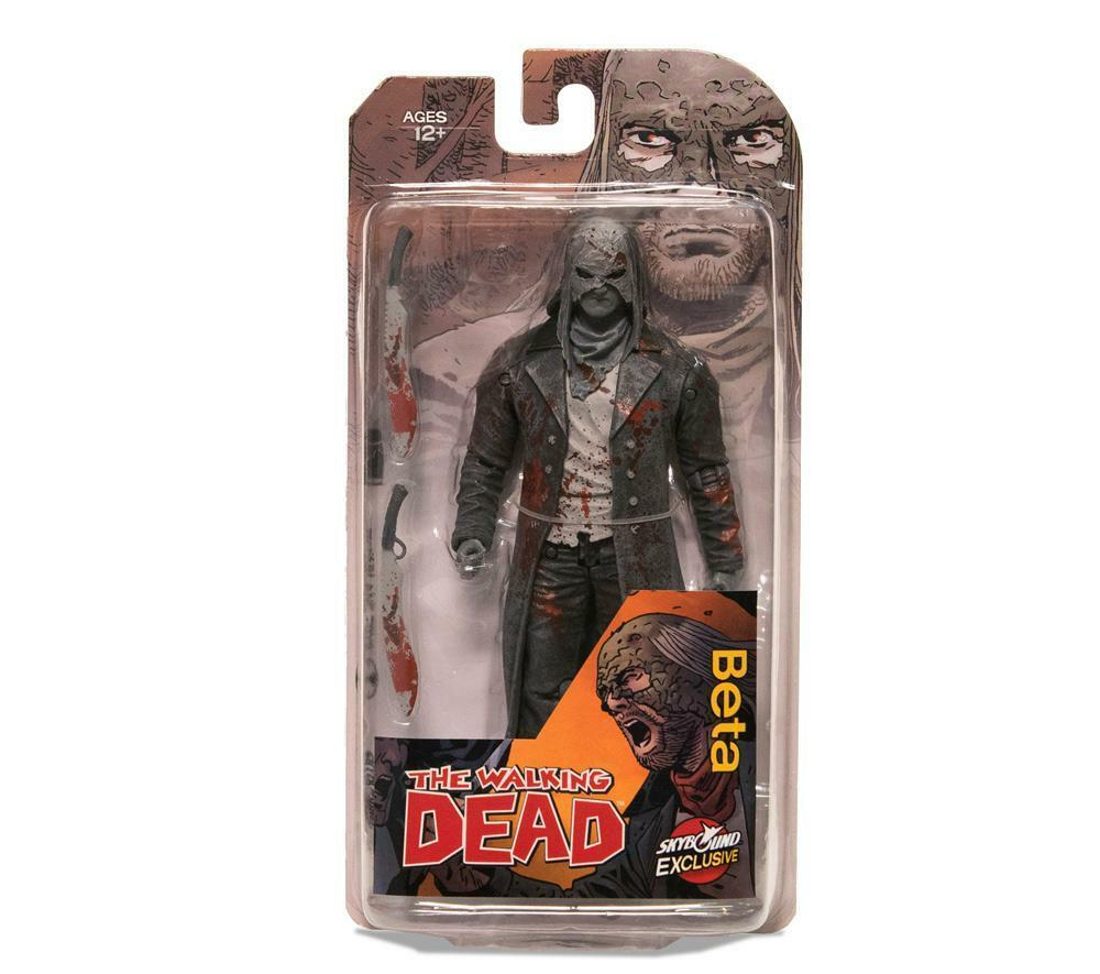 The Walking Dead - Beta Action Figure McFarlane Toys Skybound Exclusive - Bloody