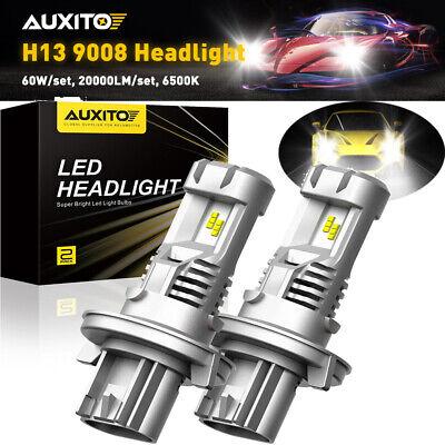 4 Sides H13 LED Headlight High Low Beam Bulbs for Dodge Ram 1500 2500 3500 06-12