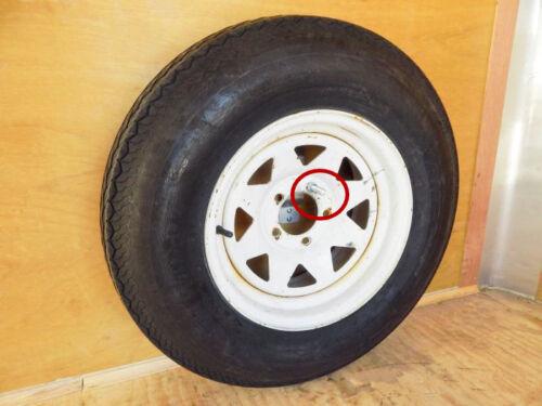 New Utility Cargo Trailer Enclosed Spare Tire Carrier Holder Mount Wheel Bracket