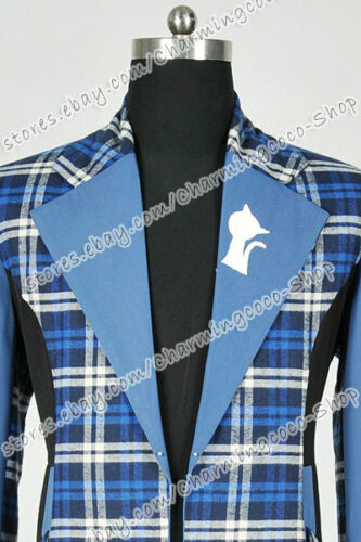 Who Buy Doctor Cosplay The 6th Sixth Dr Costume Blue Trench Coat Outwear Great