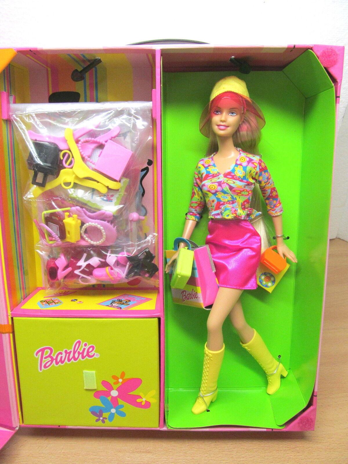MES-26848 Barbie 2001 Modekoffer OVP, aus Sammlungsauflösung,sehr guter Zustand,