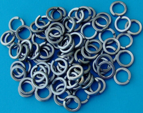 80 M8 SPRING WASHERS GRADE A2 STAINLESS STEEL GR 304 METRIC PACK OF 80