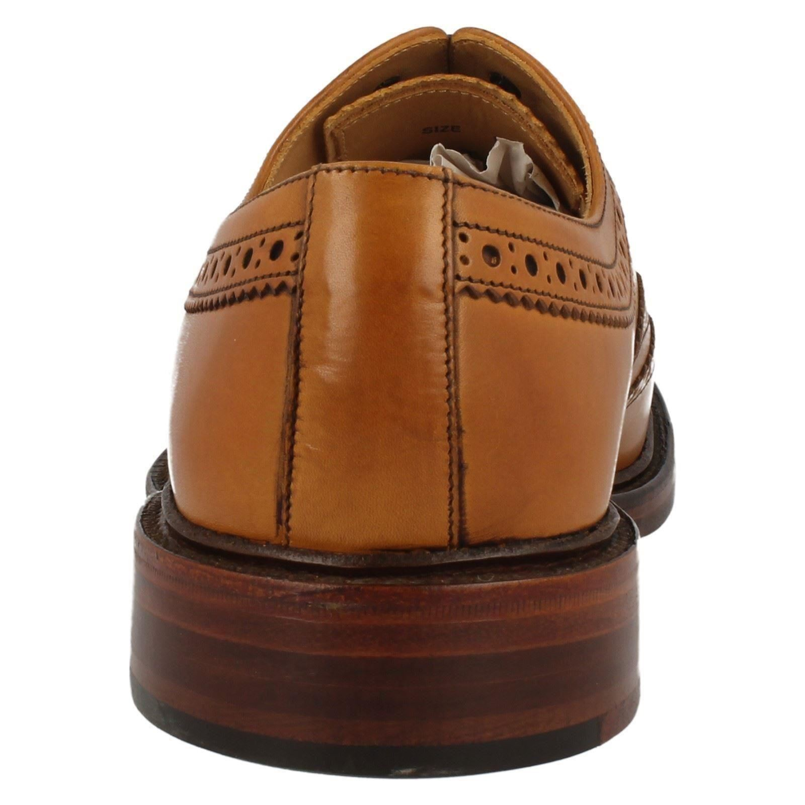 Style Loake Cuir Hommes Classique Marron Chaussures 'ashby' CrdtshQ
