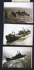 #4 Lot of 19 Diff WW2 - 1960s US NAVY SHIP PHOTOS - WWII USN USA U.S.S. U.S. USS