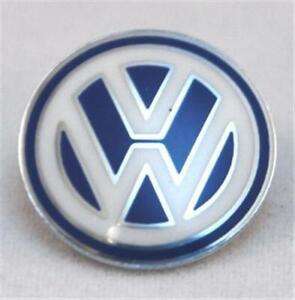 2x-VW-Emblem-Volkswagen-Schluessel-Silber-Blau-Weiss-3B0837891-Klappschluessel