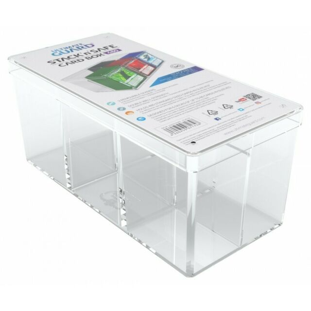 Stack /'n/' Safe Deck Box 480 Cards NEW