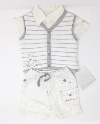 NEW Humphreys Corner Short Dungaree with Short Sleeve Body 50/% off RRP