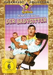 JERRY LEWIS,MARILYN MAXWELLL - DER BABYSITTER FÜNF AUF EINEN STREICH   DVD NEUF
