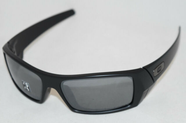 79a808bbd6 NEW IN BOX  OAKLEY GASCAN 12-856 MATTE BLACK W  BLACK IRIDIUM ...