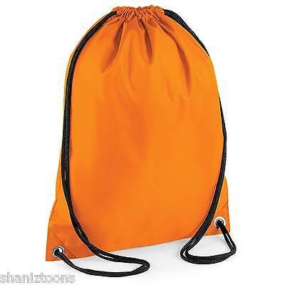 Intellektuell X10 Orange Drawstring Gym Sports School Pe Bag Bulk Buy Job Lot