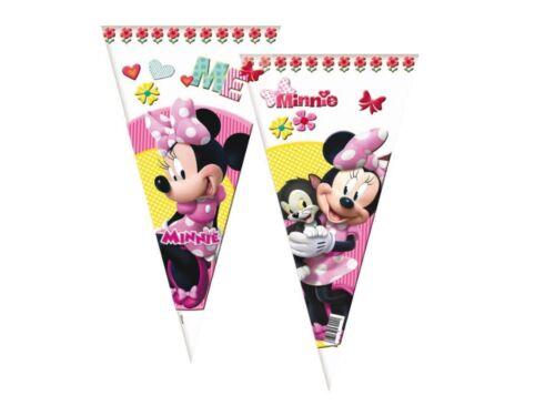 Minnie mouse cône fête violoncelle sacs-sweet candy cônes anniversaire sac longueur 40cms