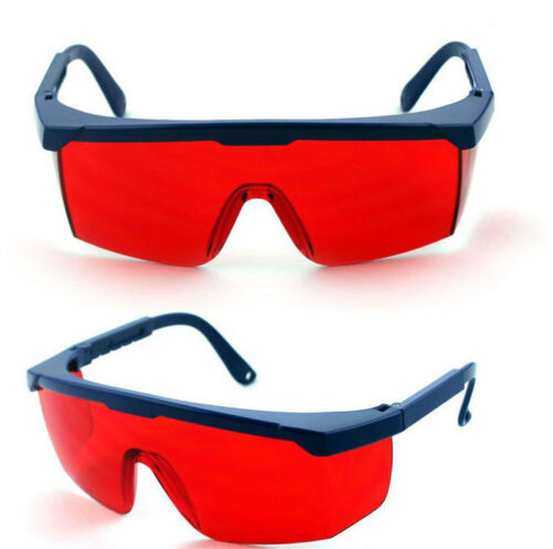 Hot Sale Laser Eye Protection Safety Glasses for Red and UV Lasers with Case