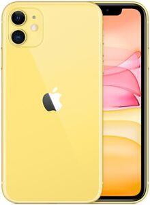 Apple iPhone 11 128GB ITALIA Yellow  LTE NUOVO Originale Smartphone iOS