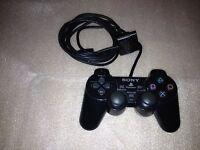 Original Sony Dualshock 2 Controller - Schwarz (ps2) Defekt - Playstation 2