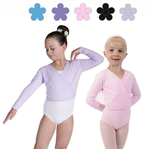 Cotton BALLET CARDIGAN Crossover Cardigan Warm Up Wrap Dance By Dancing Daisy