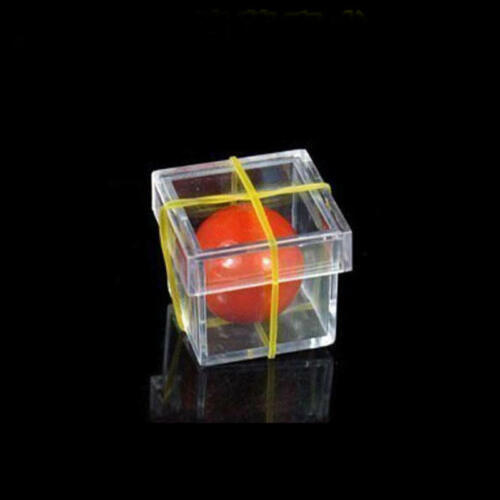 1Set Funny Ball Penetrating Through Box Illusion Stage Close-up Magic Props New