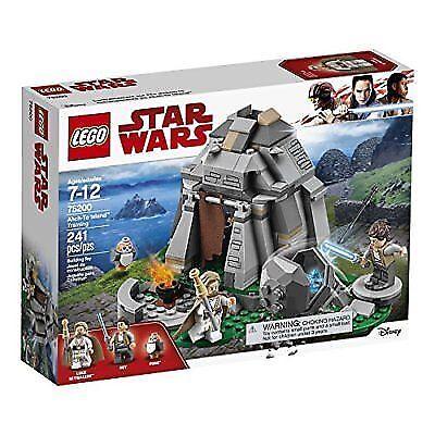 Lego 75200 Star Wars The Last Jedi Ahch-To Island Training luke rey porg