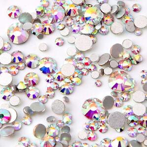 1400pcs 1439mm mix small sizes ab rhinestones crystal