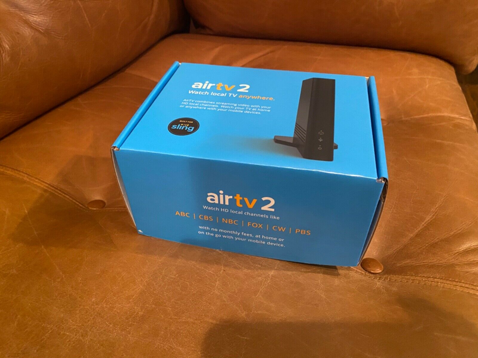 Sling AirTV 2 Tuner Local Channel Streaming Media Player Latest Model airtv channel latest local media model player sling streaming tuner