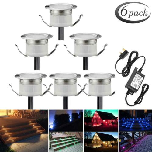 Lighting For 6 Packs RGBW Led Decking Lights Waterproof IP67 Ø31MM