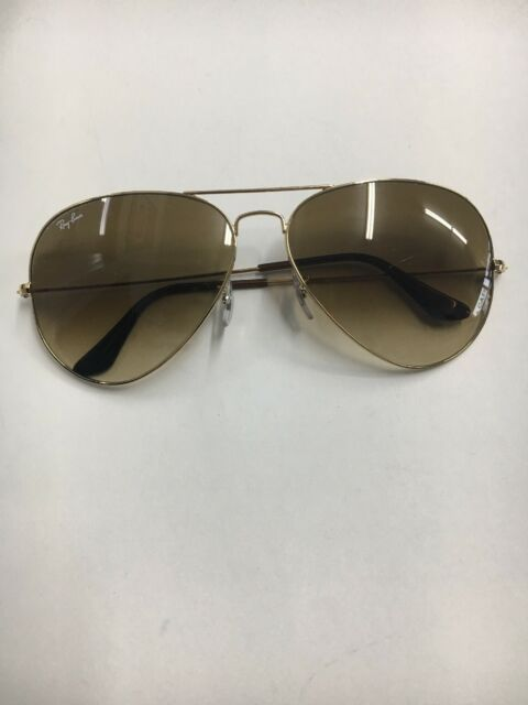 893948c053ebe Ray Ban Aviator RB 3025 Gold Frames with Brown Lenses 62  14 2N for sale  online