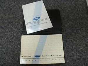 1996 chevy cavalier coupe sedan convertible owner manual user guide rh ebay com 1999 Chevy Cavalier 1995 Chevy Cavalier