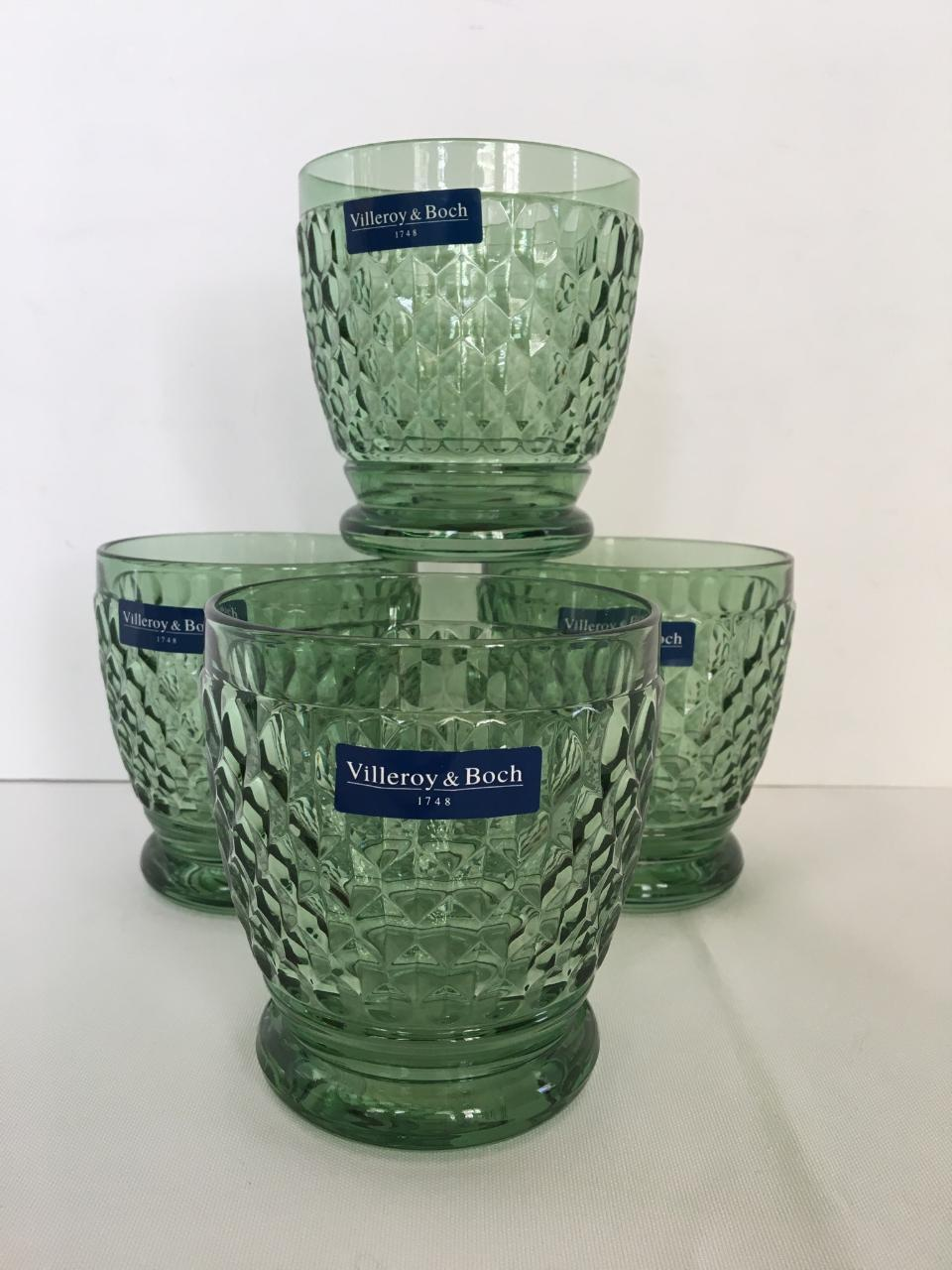 4 Villeroy & Boch Tasse  Tumbler  Double Old Fashioned chopes NEW IN BOX