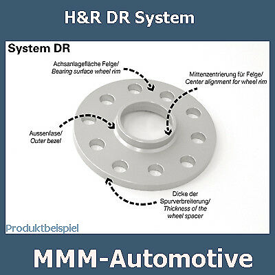 tipo 5//d H/&r SV DR 40mm BMW 5er e39 4075740 PASSARUOTA traccia del disco